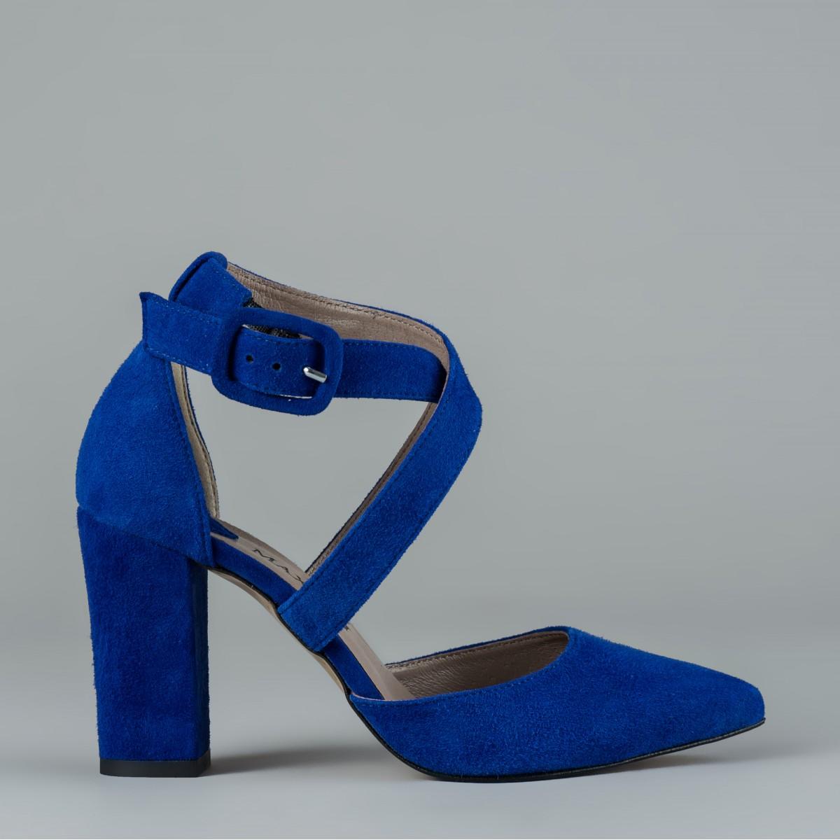 Niebieskie czółenko