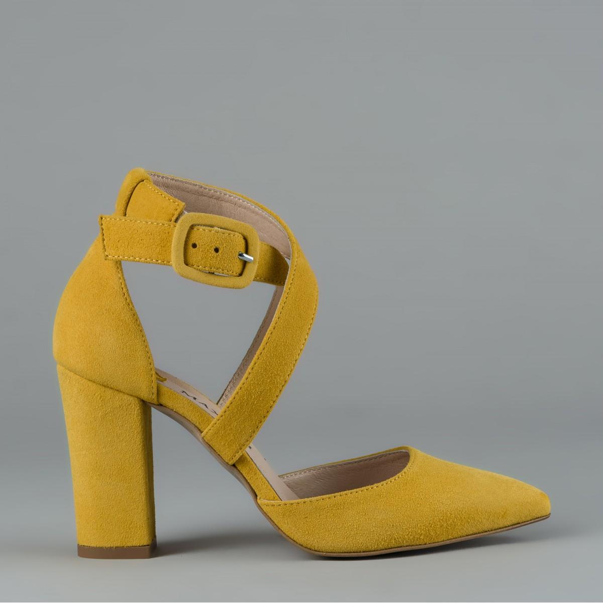 Musztardowe czółenko